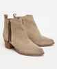 Dakota Suede Ankle Boots