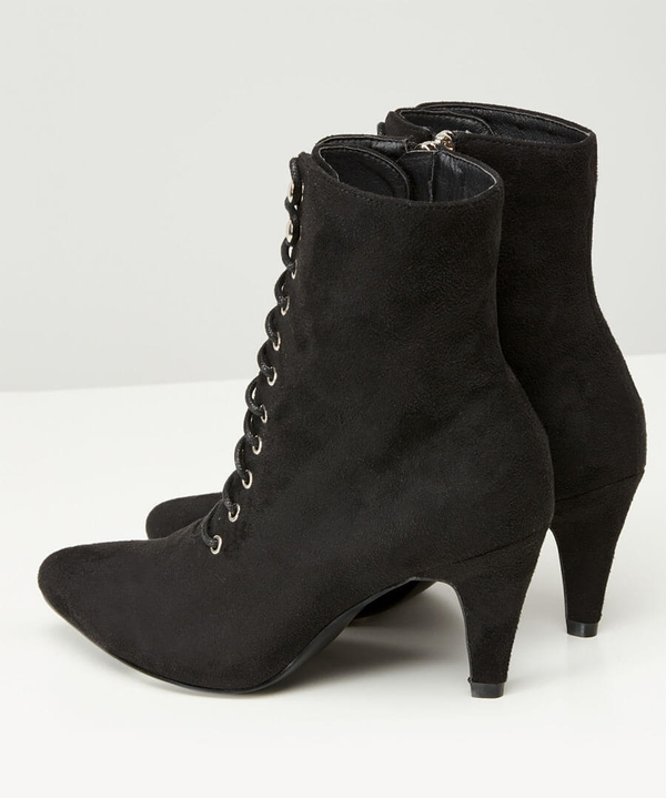 Mischief Lace Up Ankle Boots
