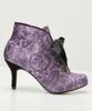 Alluring Velvet Ankle Boots