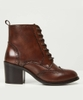 Heritage Leather Ankle Boots