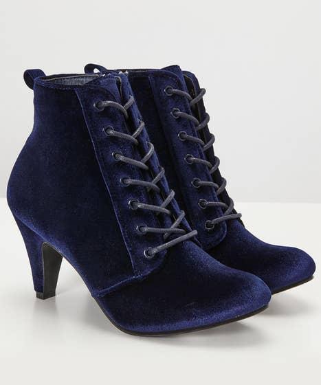 After Dark Velvet Boots