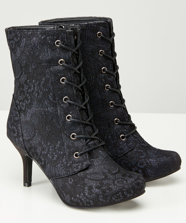 Mysterious Lacey Boots