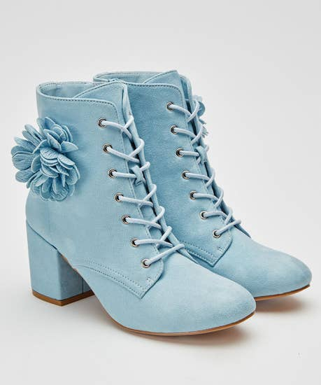 Clear Skies Corsage Boots