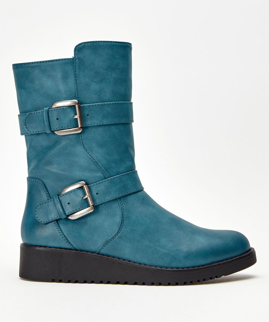 Double Trouble Strap Boots