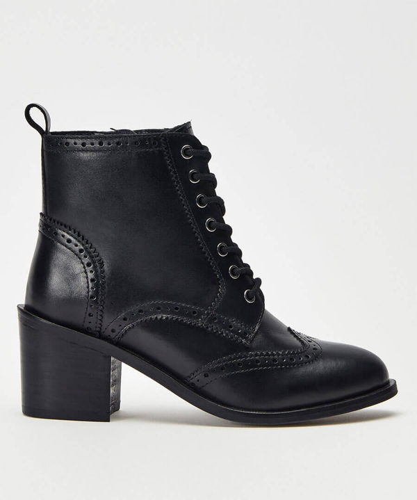 Smart And Smitten Leather Boots