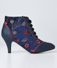 Indian Palace Embroidered Bootees