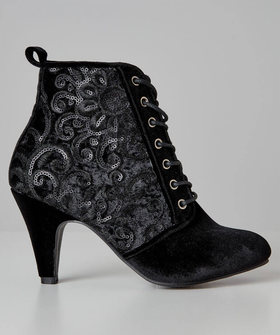 Always Fabulous Velvet Boots