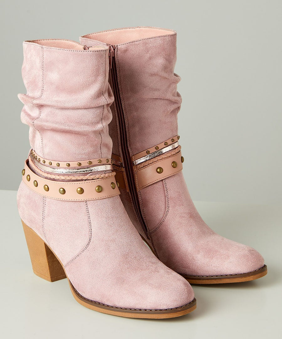 Arizona Ankle Boots Model Front