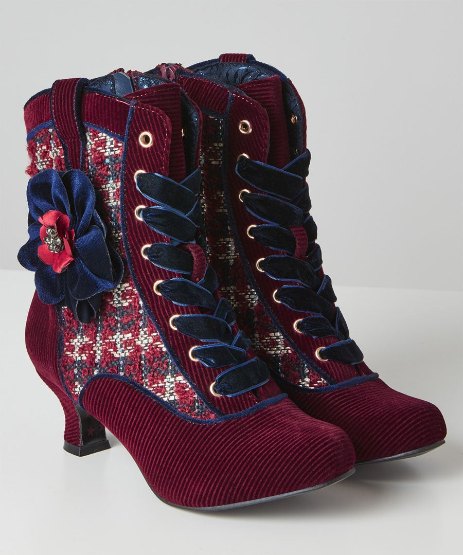 Angelika Couture Boots Model Front