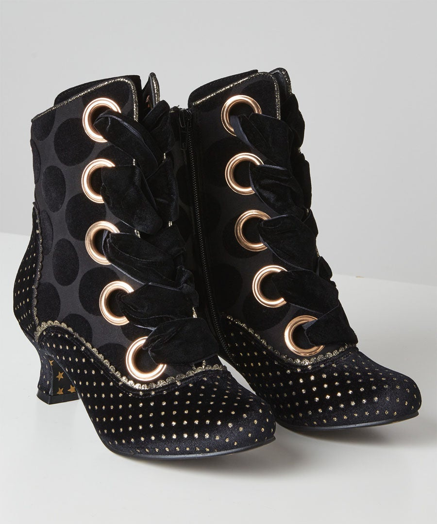 Loki Couture Boots Model Front