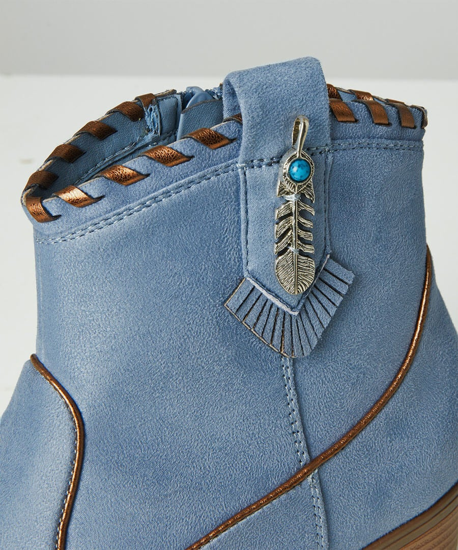 Cherokee Ankle Boots Back
