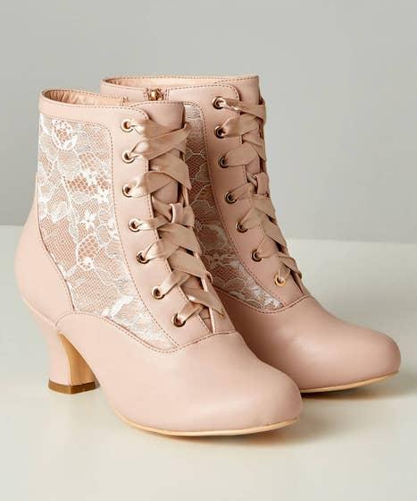 Vintage Romance Lace Boots