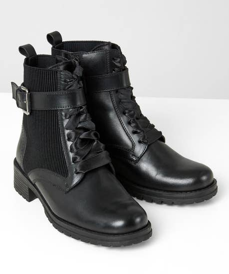 Modern Muse Leather Boots