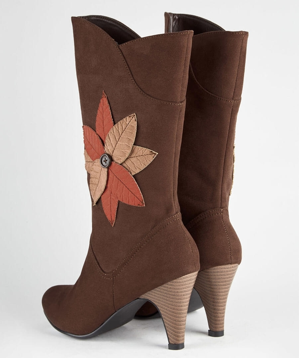 Into The Woods Midi Boots