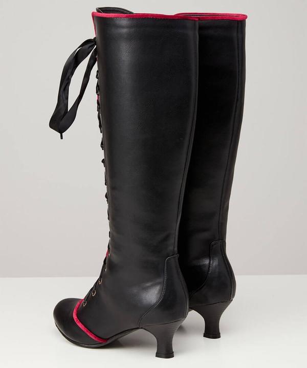 Divine Diva Lace Up Boots