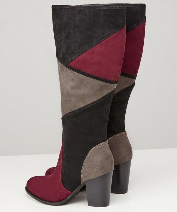 Pretty Patchwork Boots