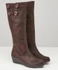 Manhattan Button Trim Boots