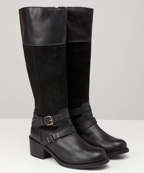 Ultimate Leather Strap Boots
