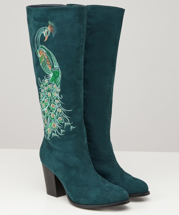Perfection Embroidered Boots