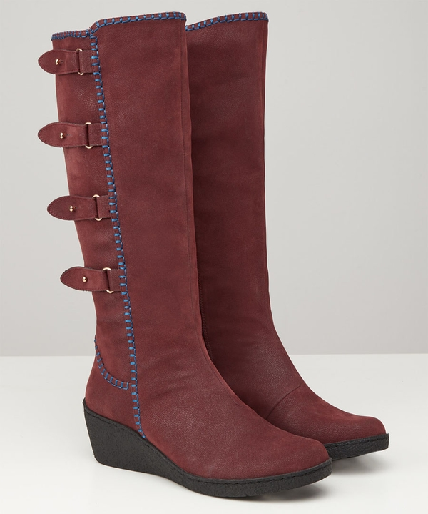 Madison Wedge Boots
