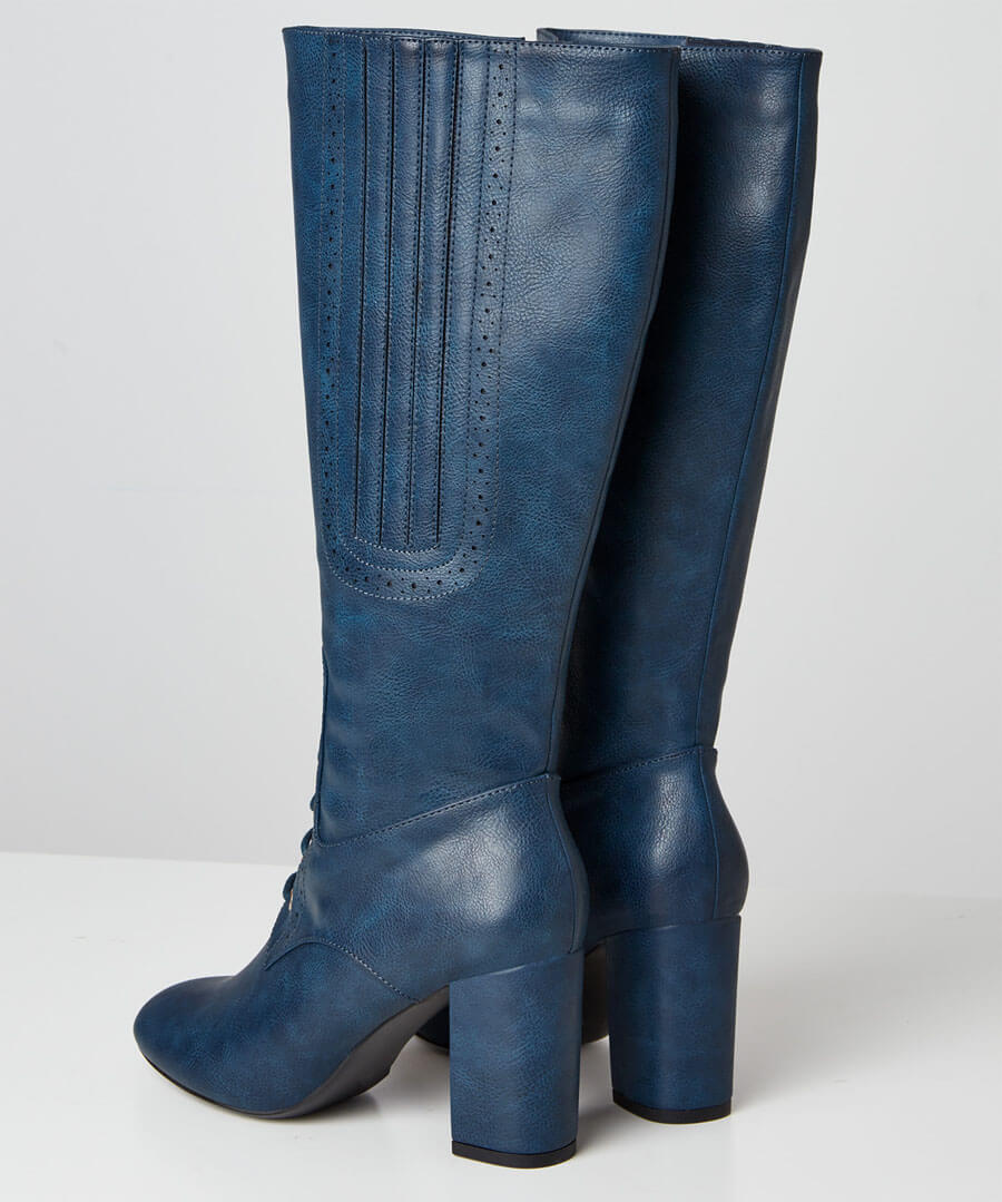 Very Victoriana Long Boots Back