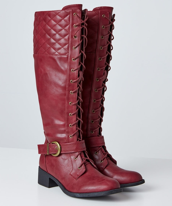 Dream Rider Lace Up Boots