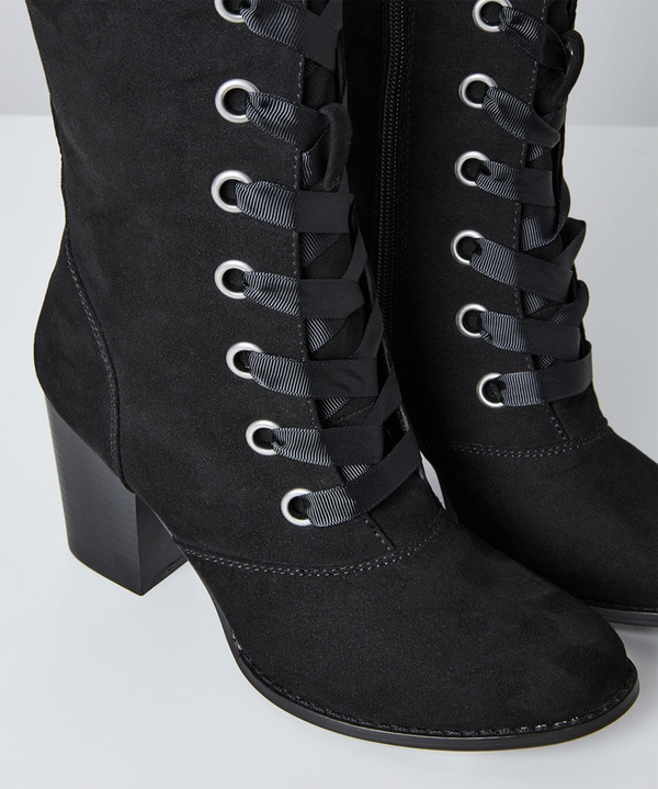Racy Katy Lace Up Boots