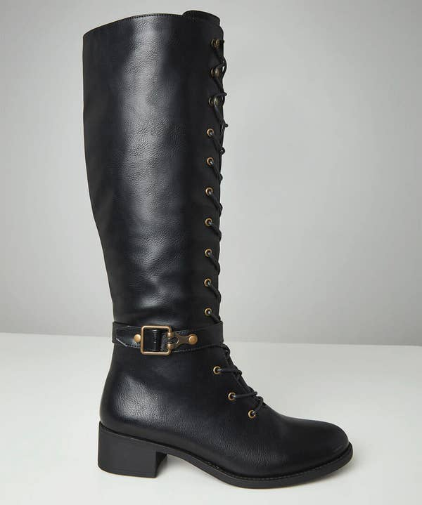 Twice As Nice Lace Up Boots