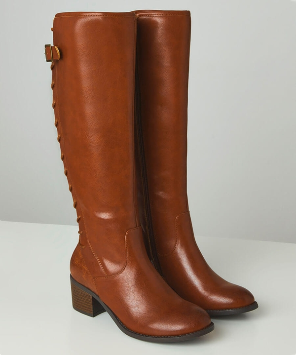 The Latest Lace Back Boots