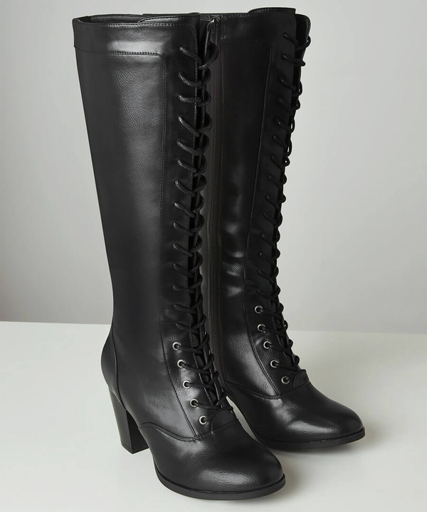 Move On Tall Lace Up Boots