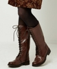 Class Act Leather Lace Up Boots