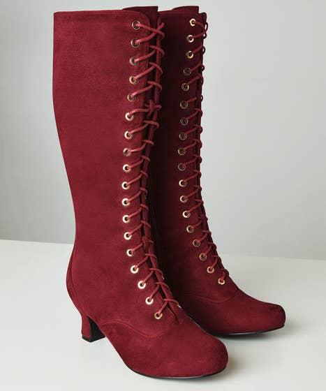 Little Minx Lace Up Boots