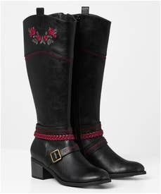 Wild Rose Tall Boots