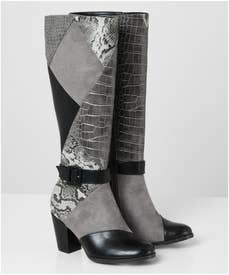 My Obsession Patchwork Boots