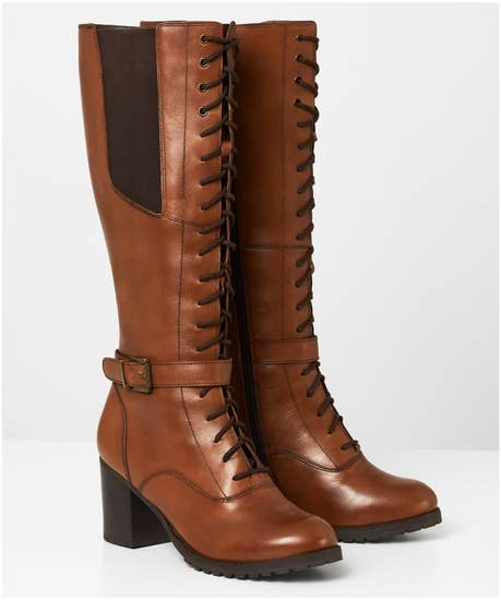 Everything And More Leather Boots