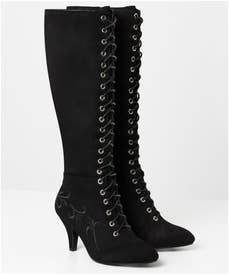 Surrender Embroidered Boots