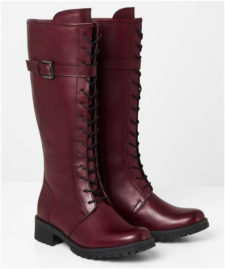 No Compromising Leather Boots