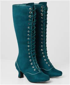 All Or Nothing Lace Up Boots