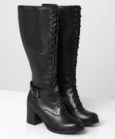 Forever Victoria Leather Long Boots