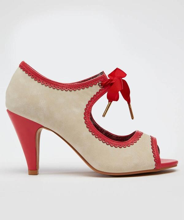Ambrosia Ribbon Tie Shoes