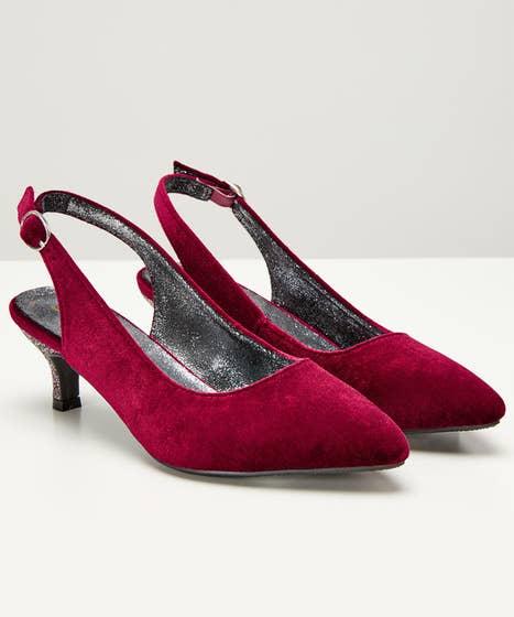 Dance til Dawn Velvet Shoes