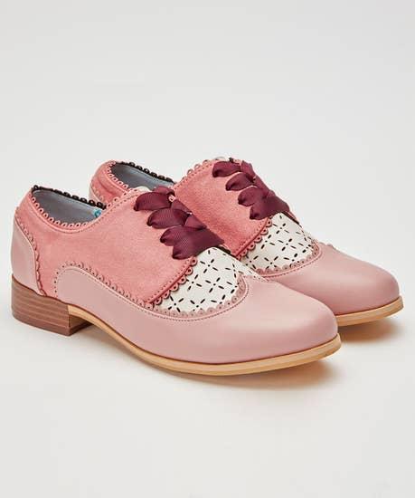 Preppy Tie Shoes