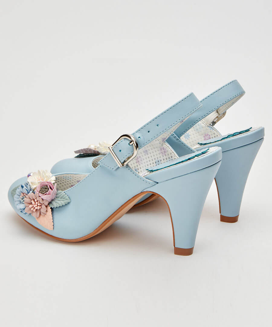 Field Of Flowers Shoes Back