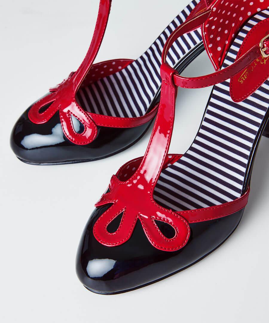 The Last Tango Patent Shoes Model Back