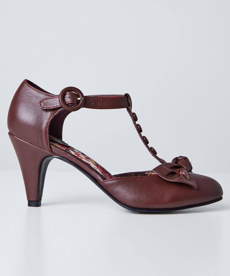 Hey Misbehavin T-Bar Shoes