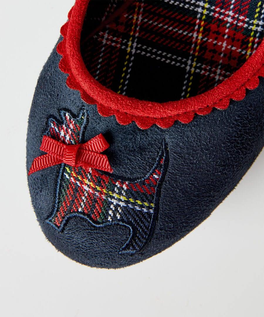 Highland Fling Court Shoes Model Back