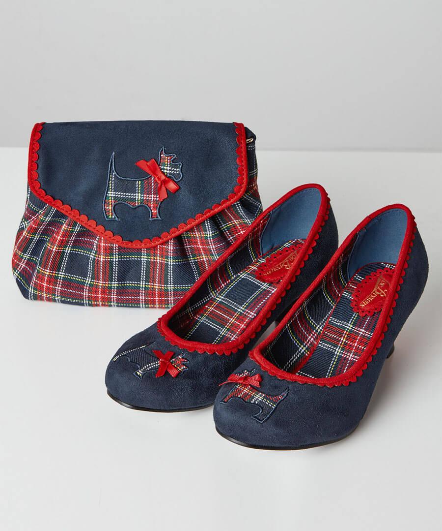 Highland Fling Court Shoes Back