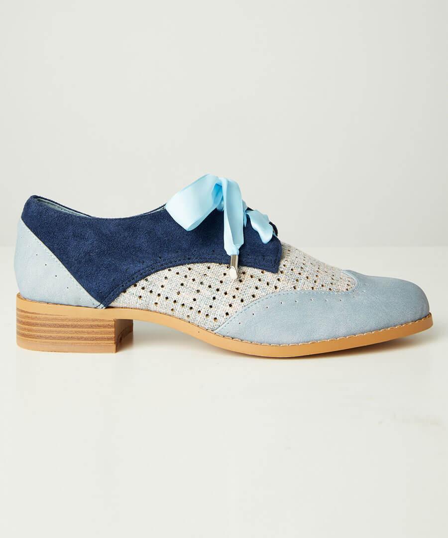 Blues Street Lace Up Shoes
