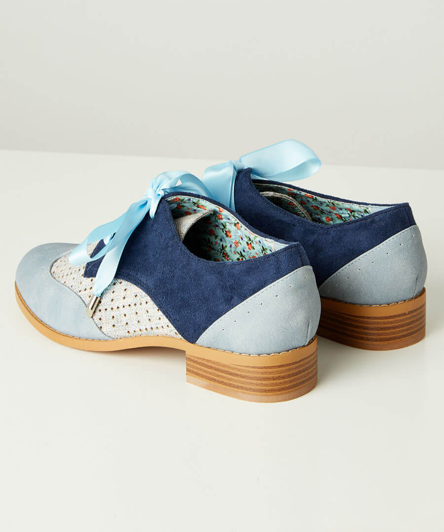 Blues Street Lace Up Shoes Back