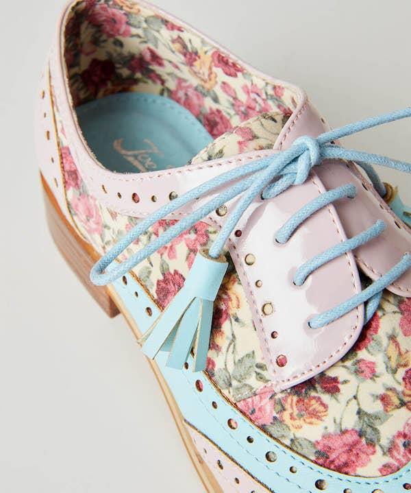 Pretty Dapper Brogue Shoes
